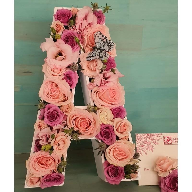Letra Floral
