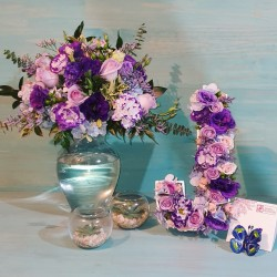 Combo Floral Candy station + Letra